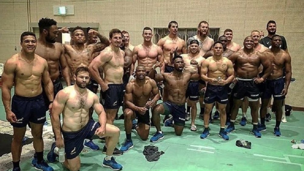 afrique du sud une photo des springboks qui dérange rugby international xv de départ 15