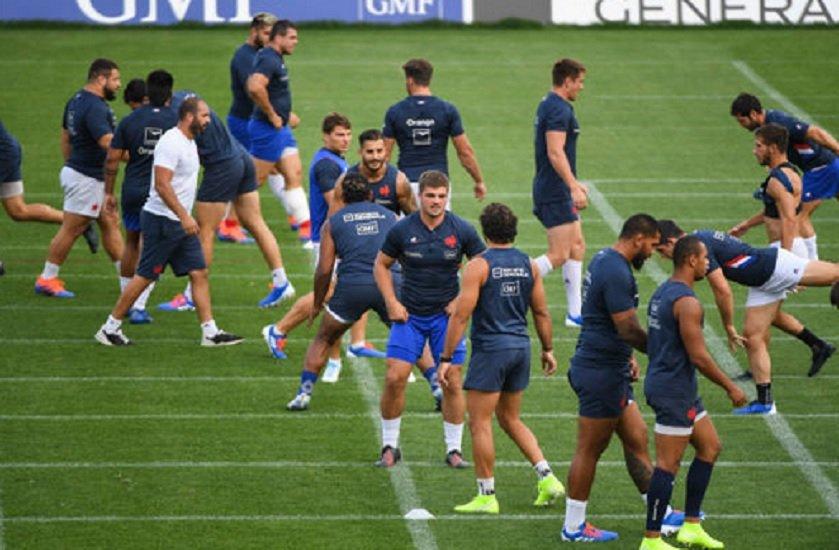 coupe du monde le groupe france dévoilé rugby france xv de départ 15