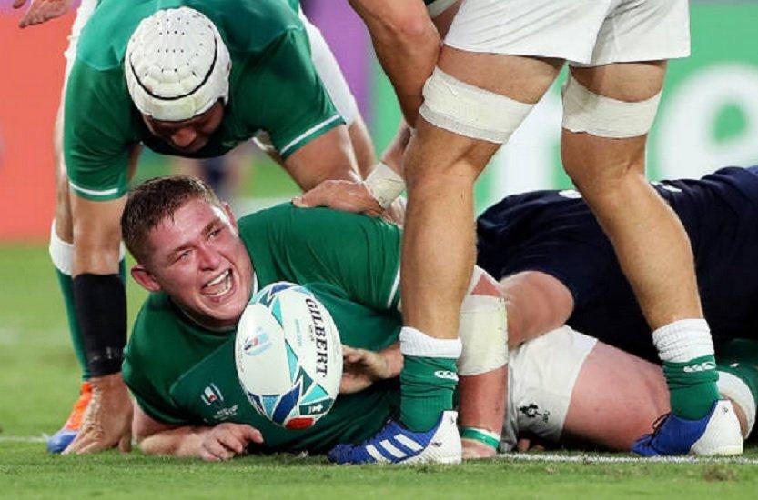 l'irlande douche l'écosse coupe du monde rugby xv de départ 15