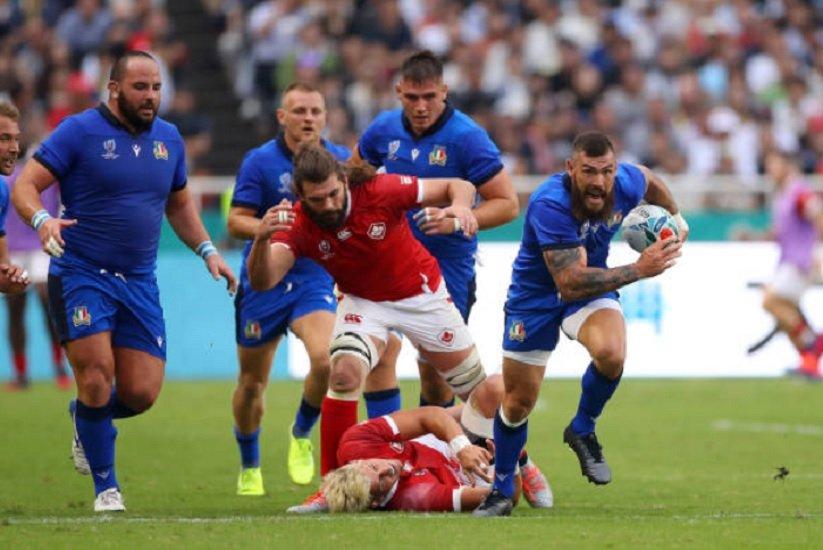 l'italie reste sur sa lancée rugby coupe du monde xv de départ 15