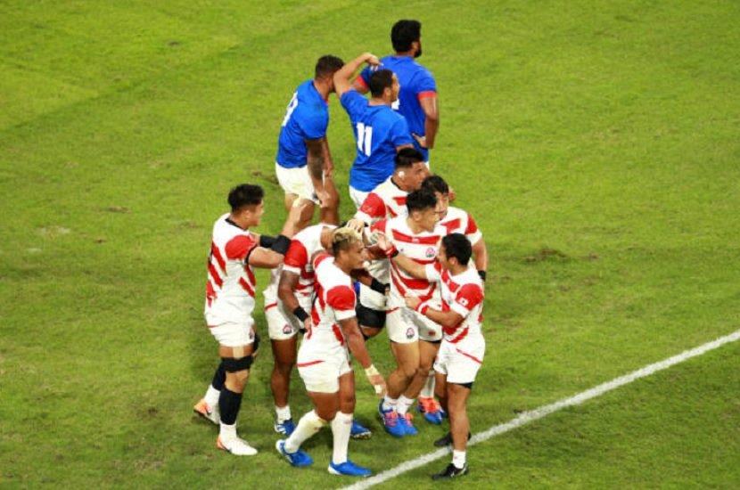 le japon en direction d'un quart de finale historique rugby coupe du monde xv de départ 15