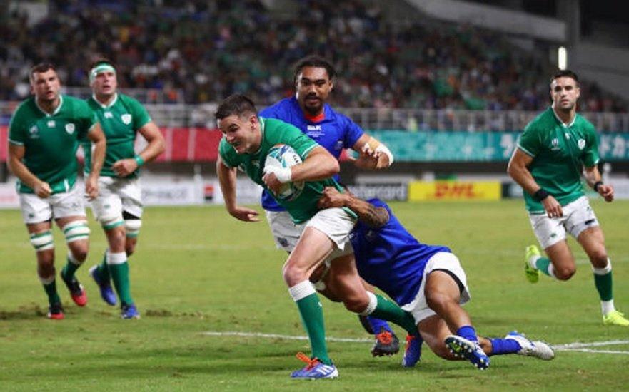 l'irlande se qualifie coupe du monde rugby xv de départ 15