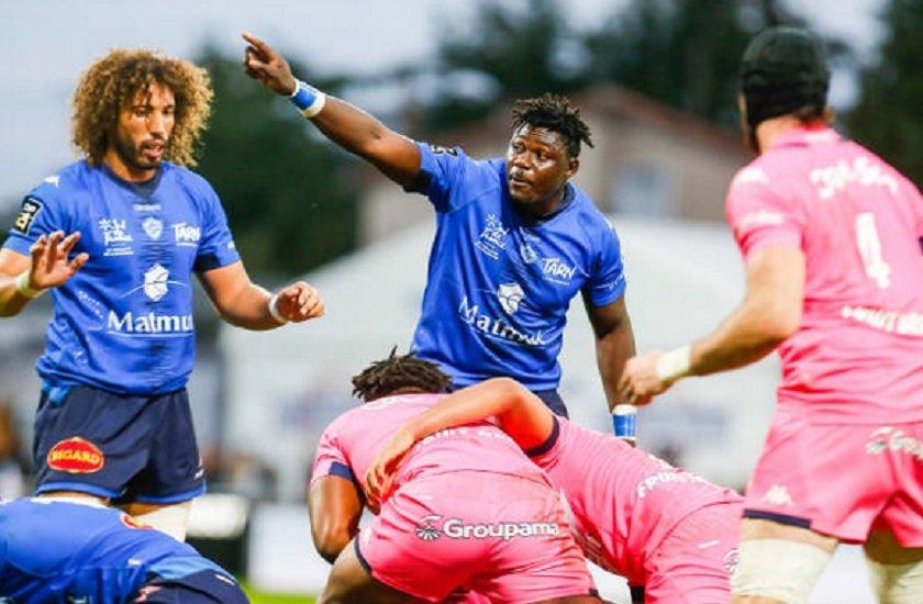 top 14 castres nkinsi suspendu douze semaines rugby france xv de départ 15