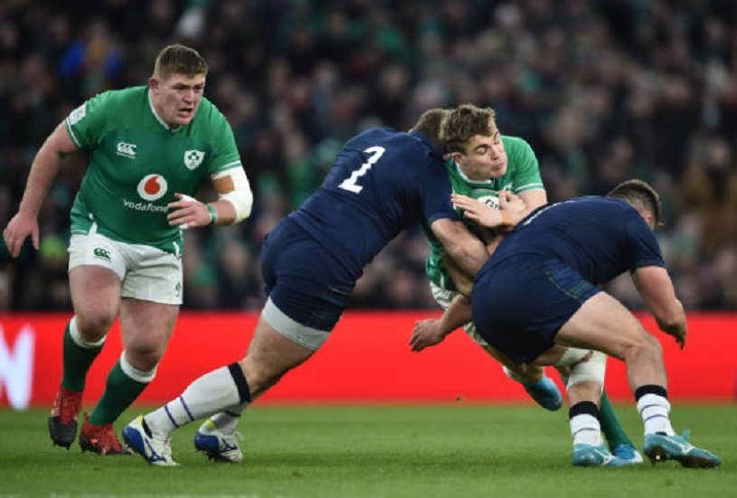 6 Nations l'irlande bousculée à Dublin rugby international xv de départ 15
