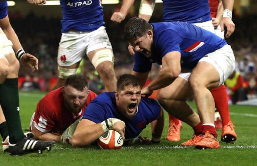 bleus sensationnel france rugby 6 nations xv de départ 15