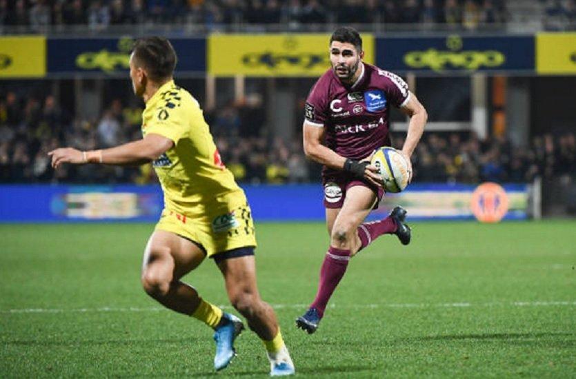 bordeaux s'impose à clermont bayonne respire agen se reprend pau s'enfonce rugby france xv de départ 15