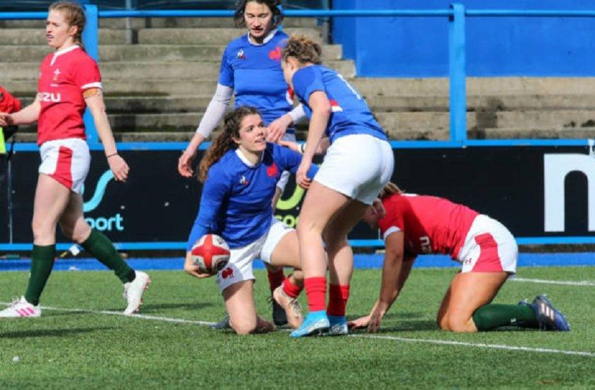 les bleues écrasent le pays de galles rugby 6 nations xv de départ 15
