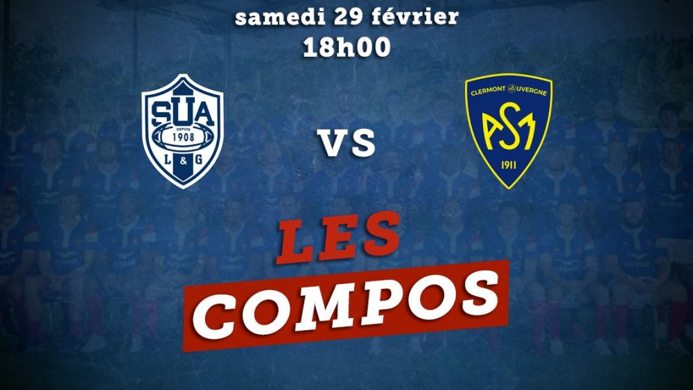 top 14 les compositions agen vs clermont rugby france xv de départ 15