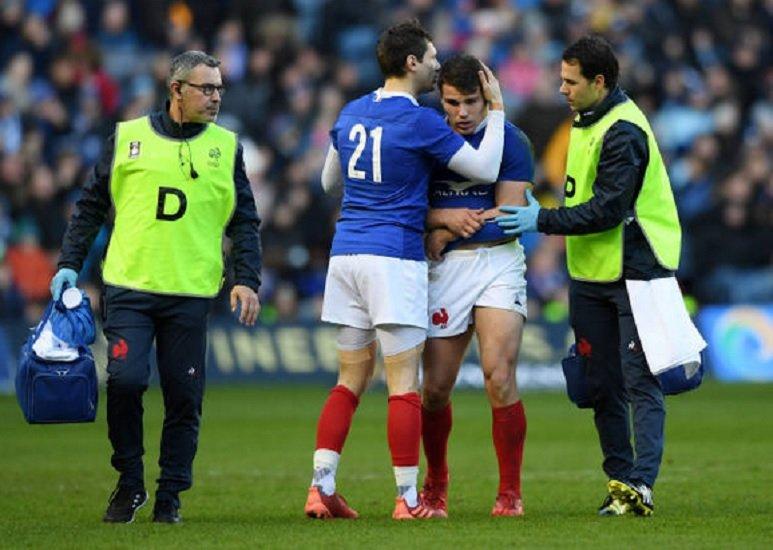 toulouse dupont absent un mois, ntamack trois semaines rugby france xv de départ 15