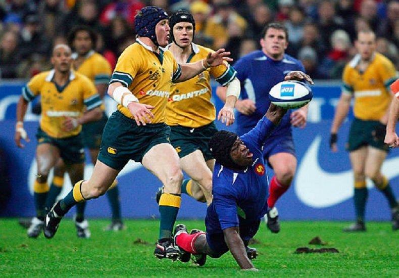 tournée 2004 la france surclasse l'australie rugby france xv de départ 15