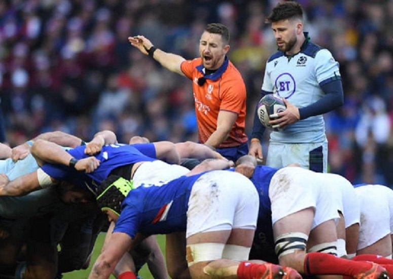pas de mêlée plaquages ballon aillot rugby international xv de départ 15