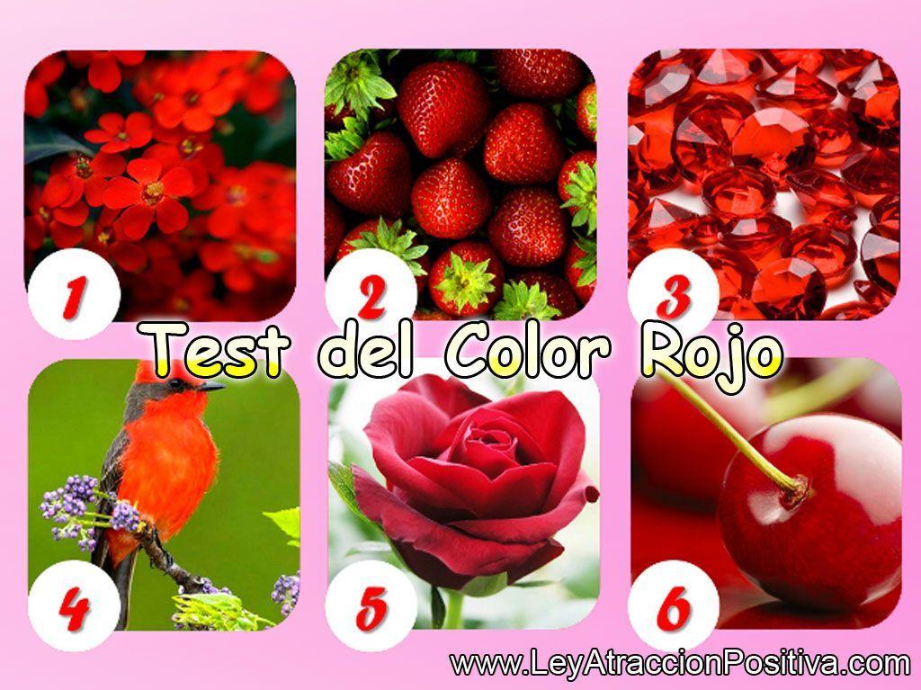 Test del Color Rojo