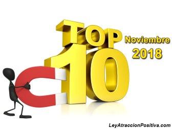 Top 10 Noviembre 2018