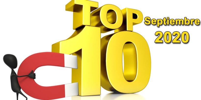 Top 10 Septiembre 2020