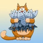 El gato y las sardinas (Fábula infantil)