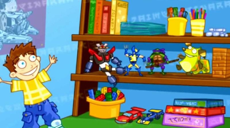 Los juguetes ordenados