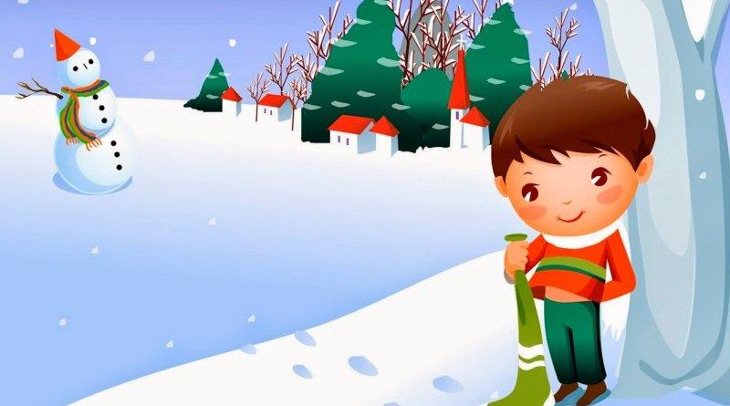 Matías y el muñeco de nieve