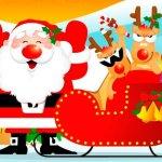 Un paseo en el trineo de Santa -parte 1