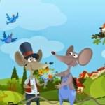 Fábula – El ratón campesino y el cortesano