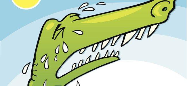 Poesía -El cocodrilo gigante