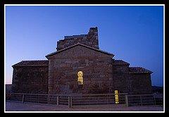 Exterior de Santa María de Melque