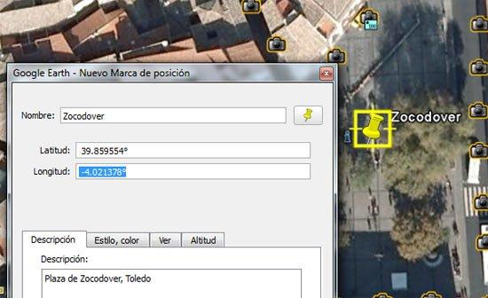 Zocodover en Google Earth