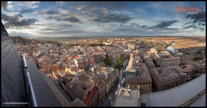 Vistas desde el Alcázar de Toledo