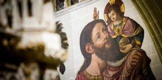 San Cristóbal en la Catedral de Toledo por David Utrilla