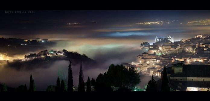 Niebla en Toledo, por David Utrilla