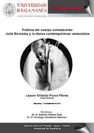 Poética del cuerpo entreabierto: Leyson Ponce (Tesis doctoral)
