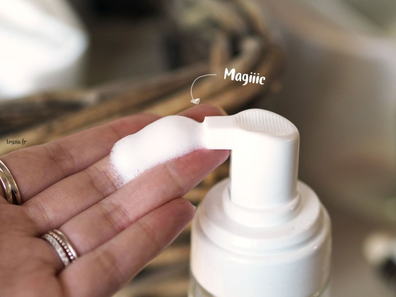 bubble cleansing foam