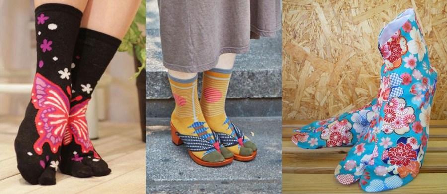 chaussettes japonaises