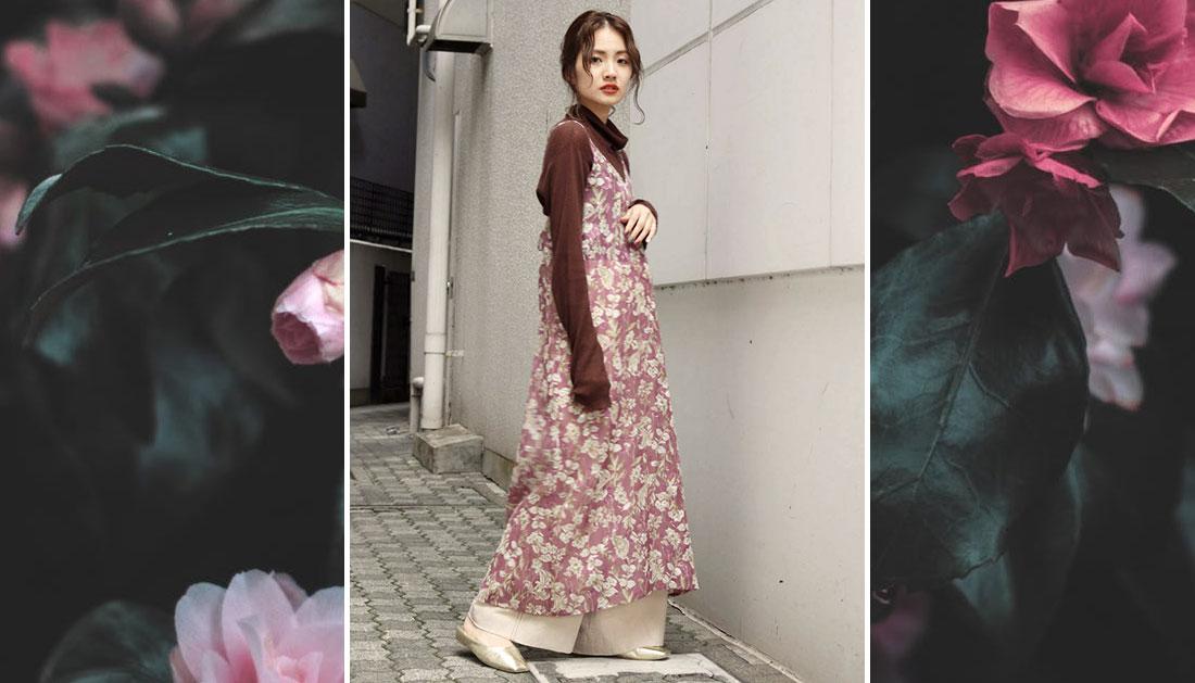 Adoptez la robe pantalon & la robe jupe façon japonaise