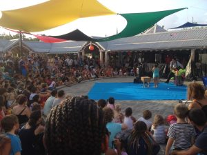 Festival Lézard Ti Show 2016 scène fontaine