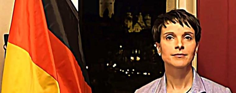 Le visage de l'extrême droite allemande, c'était elle : Frauke Petry, très médiatique porte-parole, entre 2015 et 2017, de l'Alternative für Deutschland (AfD).