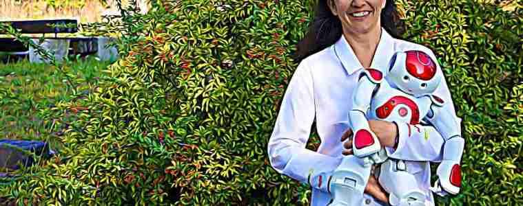 Sophie Sakka aime le Japon et les robots