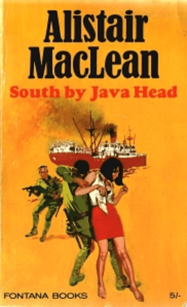 Cover of the 1972 Fontana paperback edition of South By Java Head