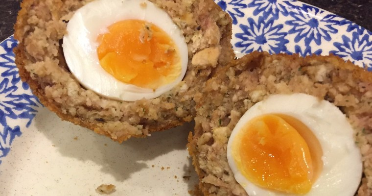 Sosmix scotch eggs (now with GF option!)