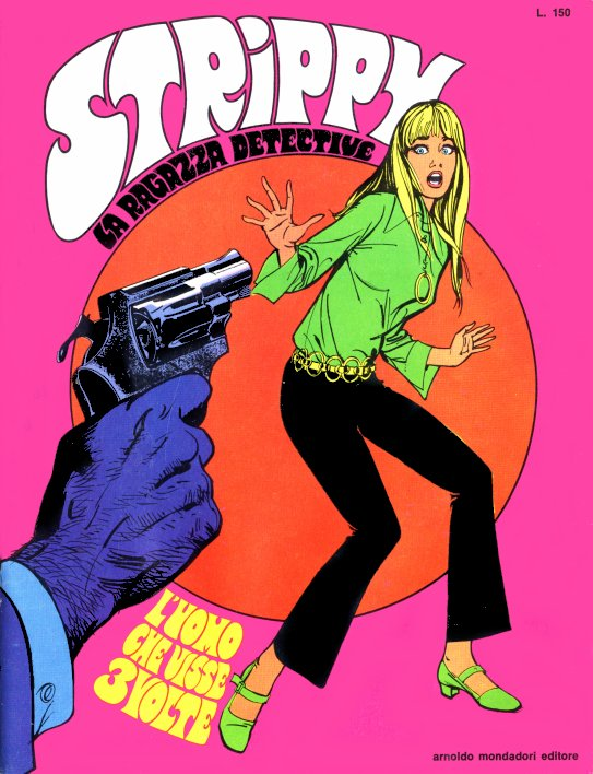 Cover del n. 1 di Strippy, la ragazza detective
