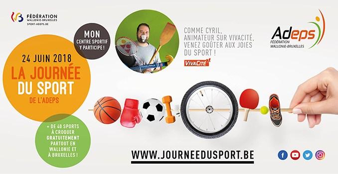 Journée du sport Adeps Fédération Wallonie Bruxelles