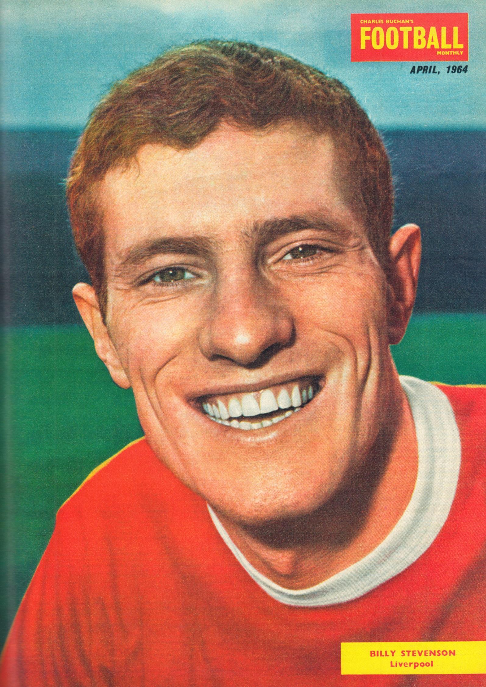 Liverpool Career Stats For Willie Stevenson LFChistory