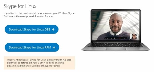 skype per Linux
