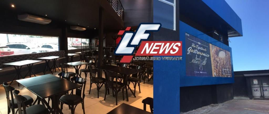 LF News Portal Notícias Lauro de Freitas bahia INAUGURAÇÃO bar SANTA MÚSICA VILAS7