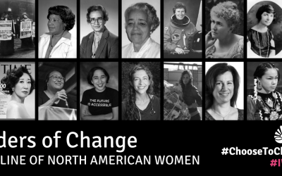 Leaders of Change – A Timeline of North American Women