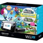 Nintendo Wii U Deluxe 32 GB com Game New Super Mario Bros U e New Super Luigi
