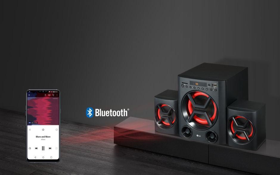 Wireless Audio Streaming via Bluetooth 1