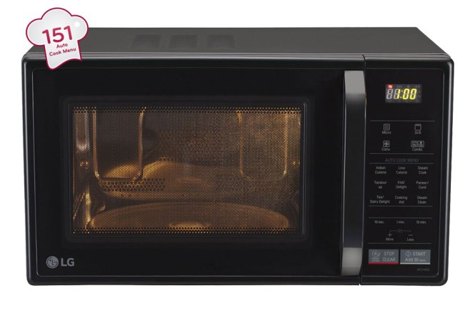 Lg Mc2146bl Convection Microwave Oven