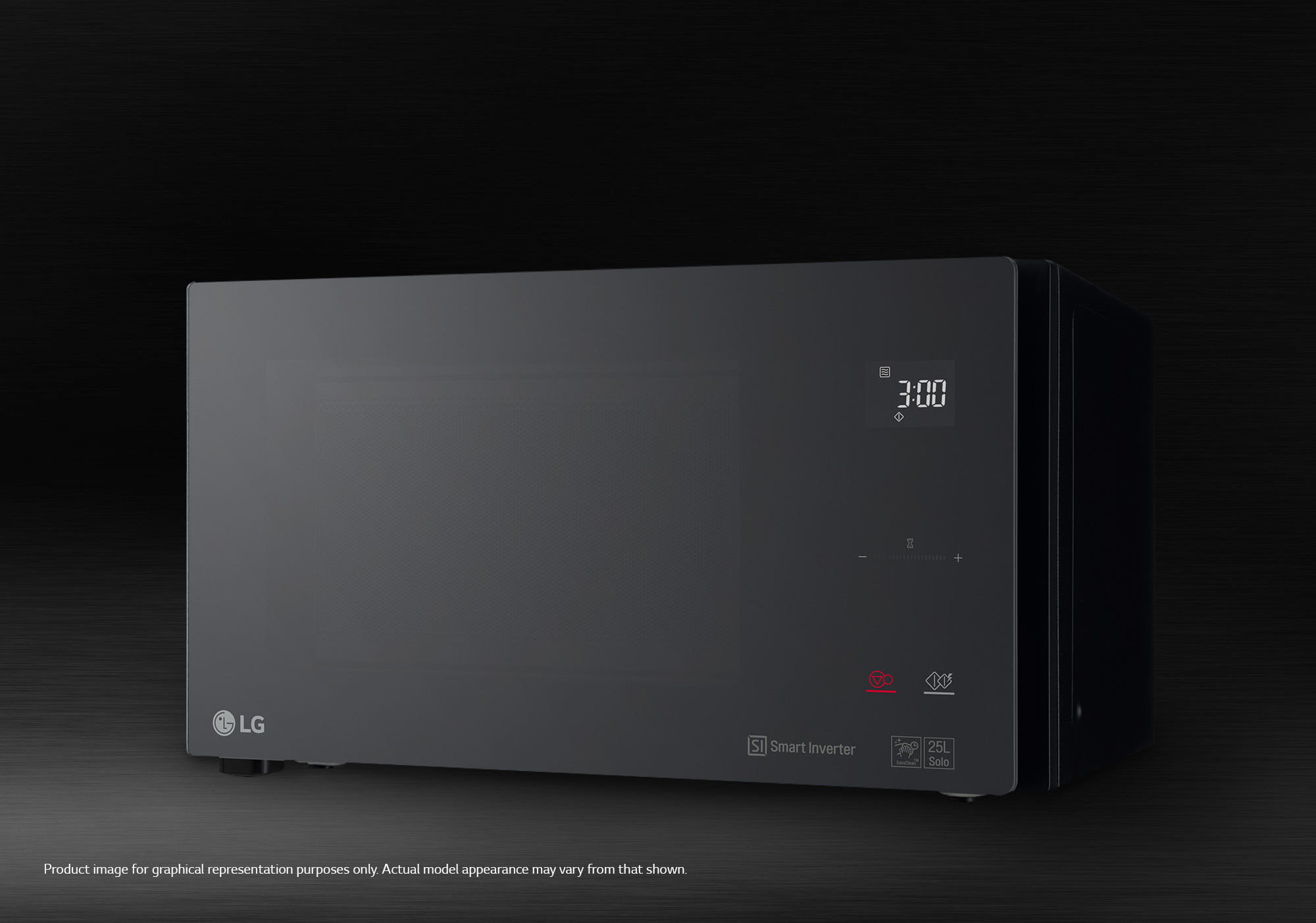 lg neochef microwave 25l grill sts