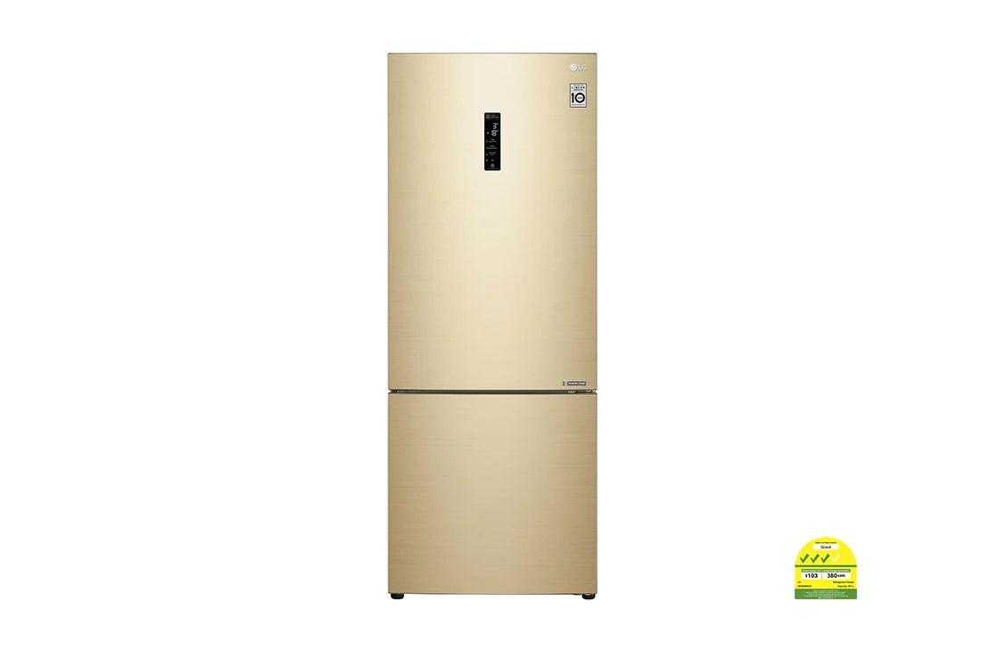Lg 451l Gold Bottom Freezer Refrigerator Lg Electronics Sg