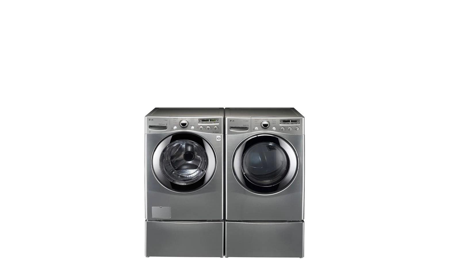 Lg Washer Dryer Pedestal With Storage Drawer